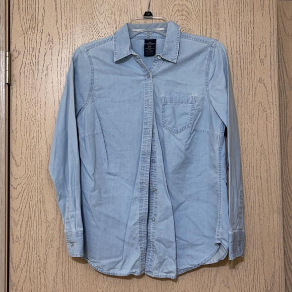 Faded Glory Jean button up